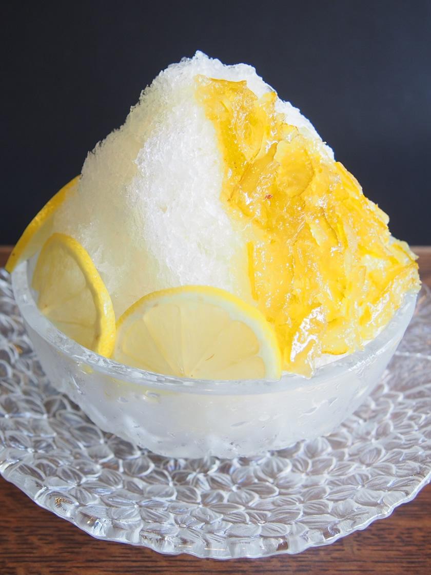ゆずレモン氷