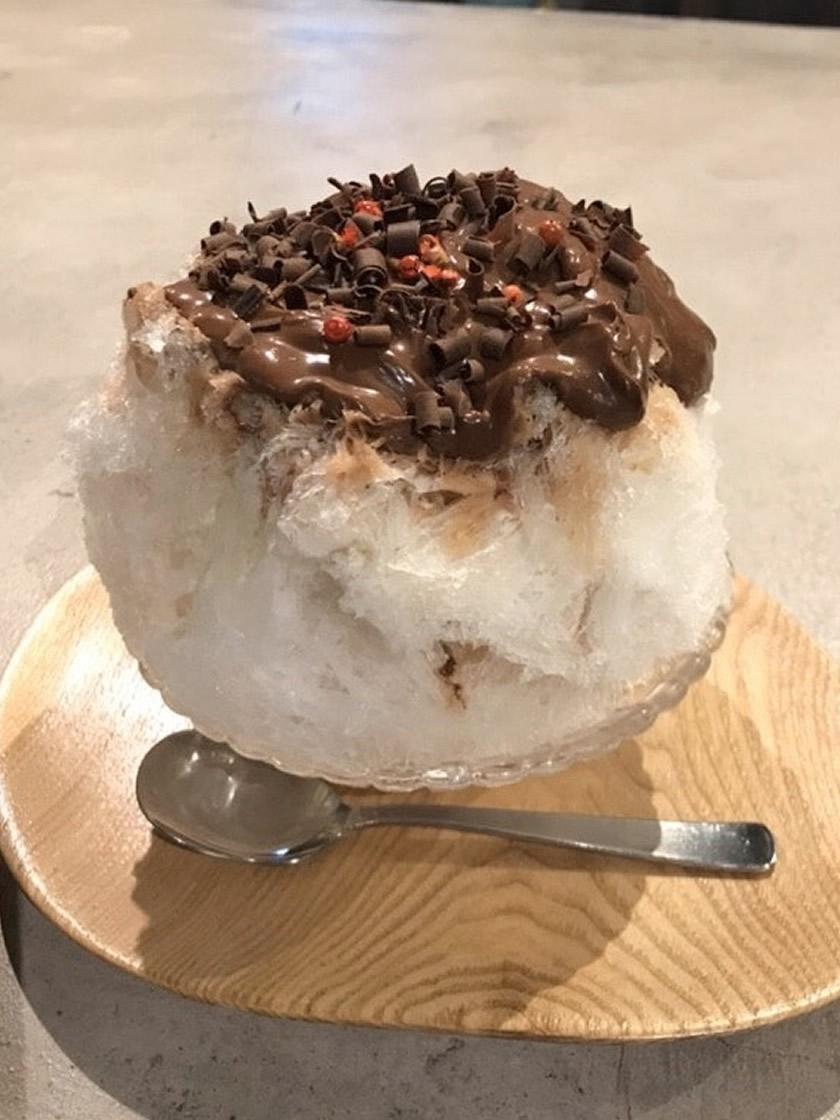 ショコラのかき氷
